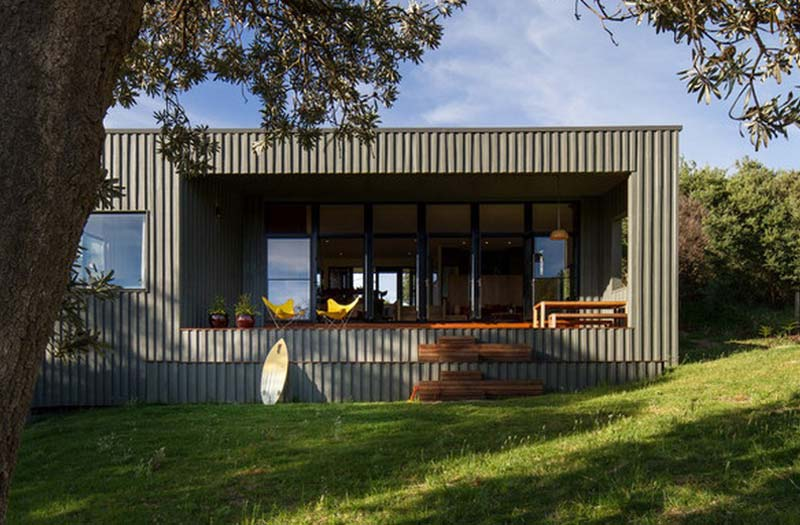 containerwoning habitus venus bay surf shack mrtn