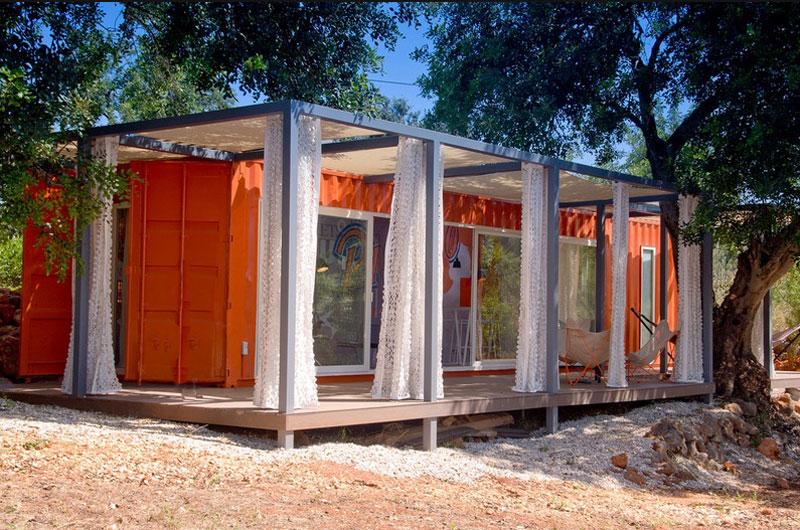 containerwoning studio arte nomad
