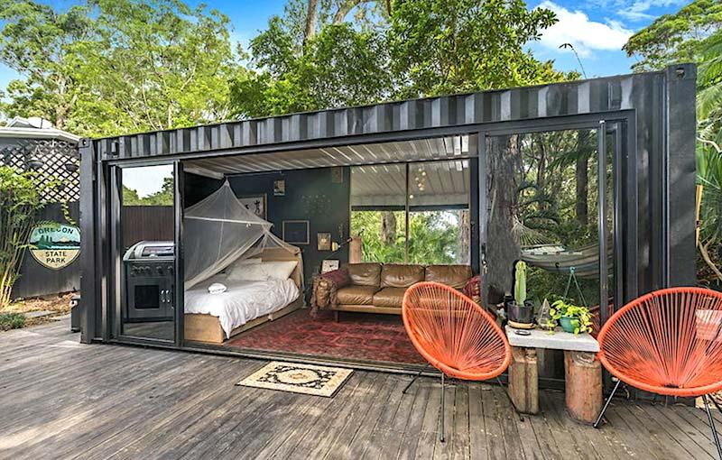 Wonderbaarlijk Containerwoning | Huis-inrichten.com CB-27