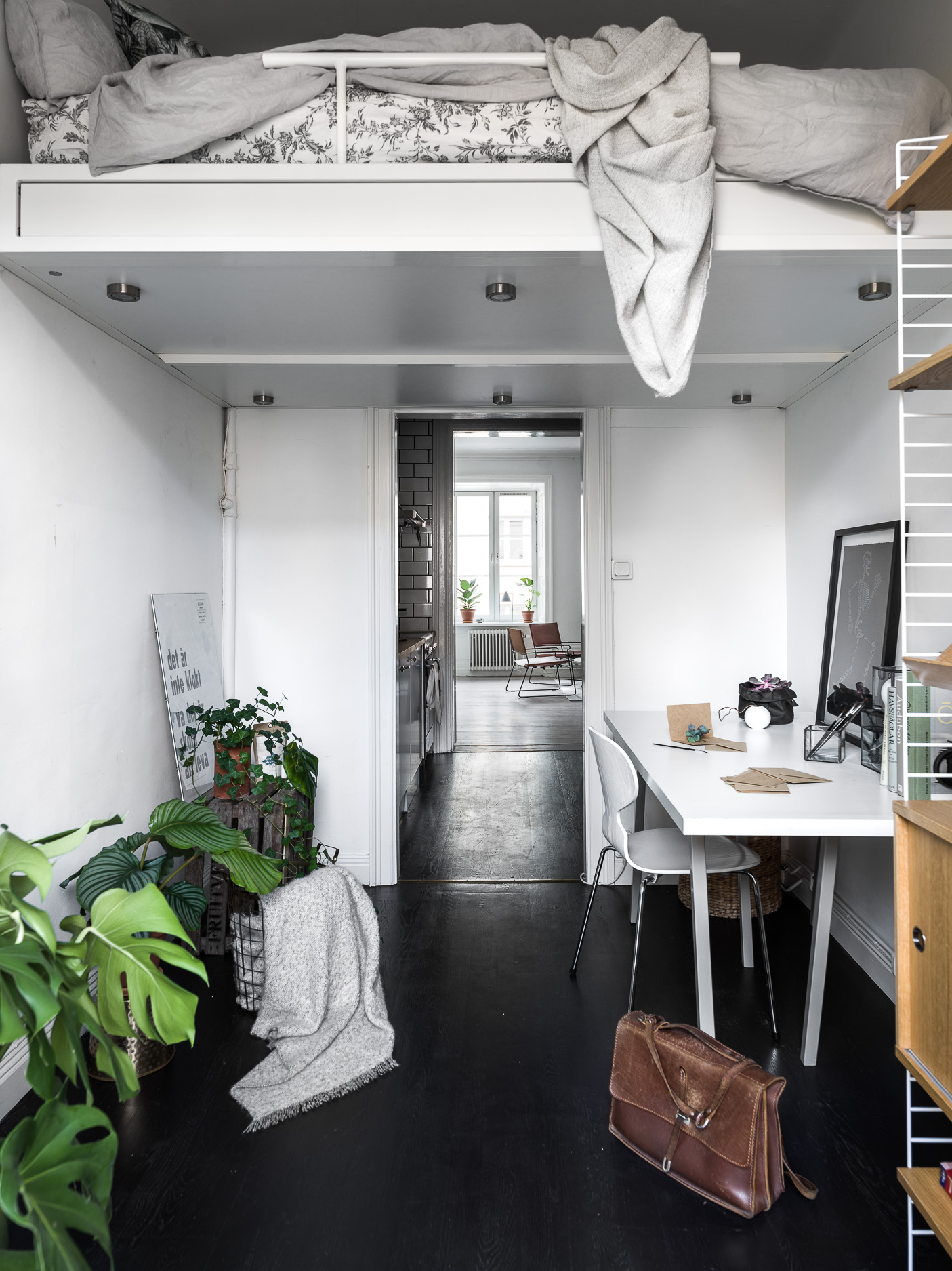 Creatief Huis Inrichten.Creatief Ingericht Klein Appartement Van 44m2 Huis