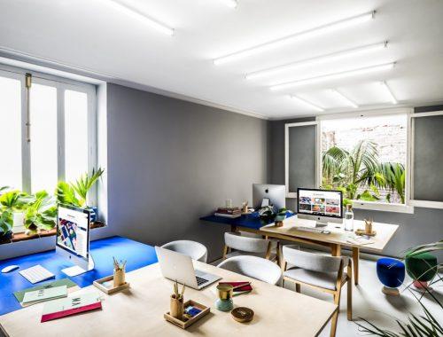 Creatief studio Masquespacio ontwerpt eigen kantoor