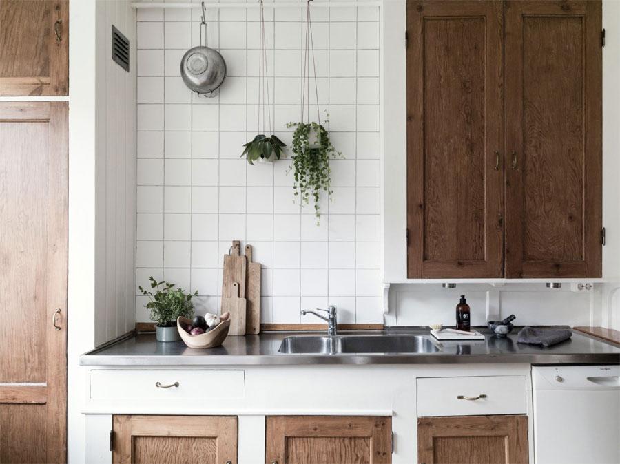 De charme van een oude keuken