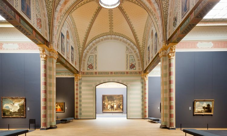 De kleuren van het Rijksmueum
