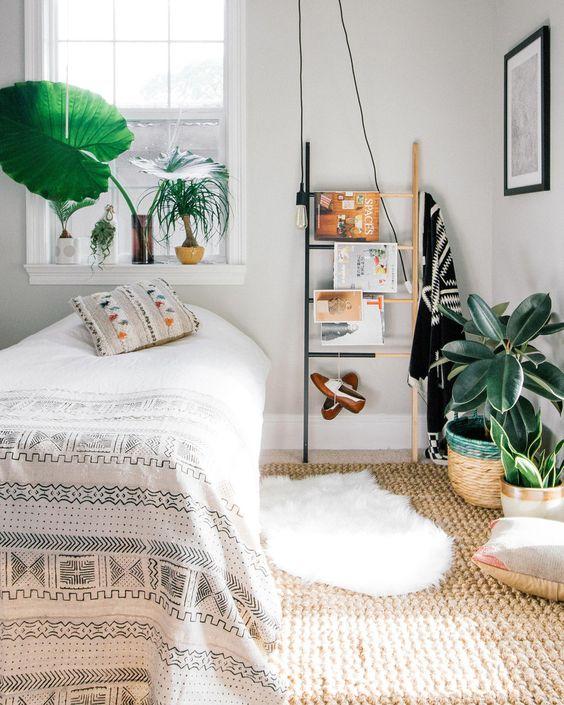 decoratieladder-tijdschriften-slaapkamer