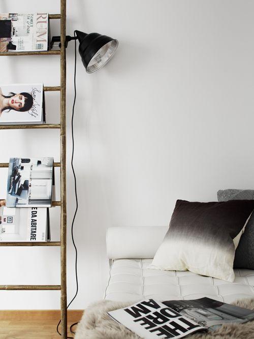 decoratieladder-tijdschriftenrek