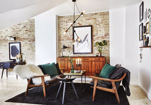 Retro Inrichting Huis.Deens Appartement Met Rustieke Retro Inrichting Huis