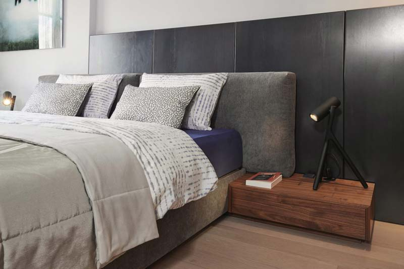 design boxspring grote kussens