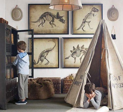 Dinosaurus kinderkamer