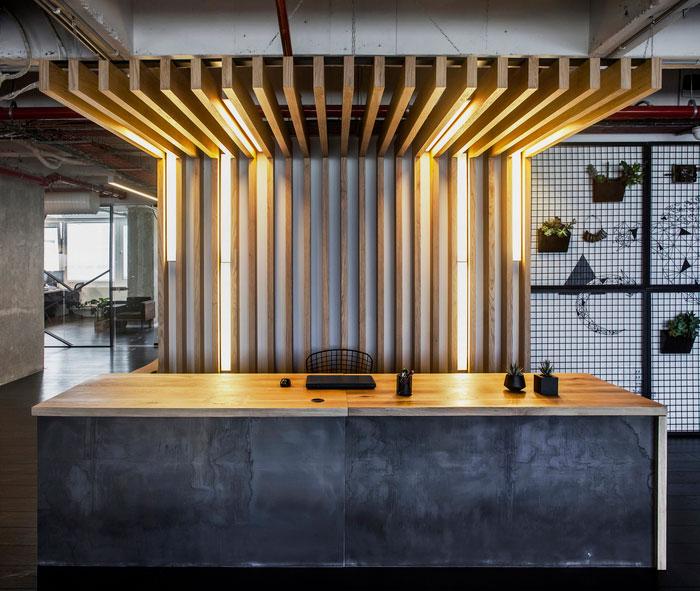 Dit stoere kantoor is ontworpen ontwerpstudio Turman Romano