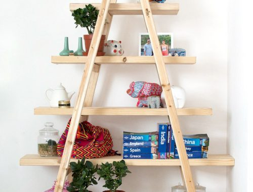 DIY driehoek kast