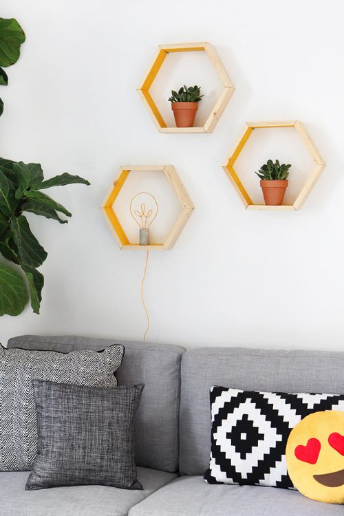 diy-hexagon-wandkubussen