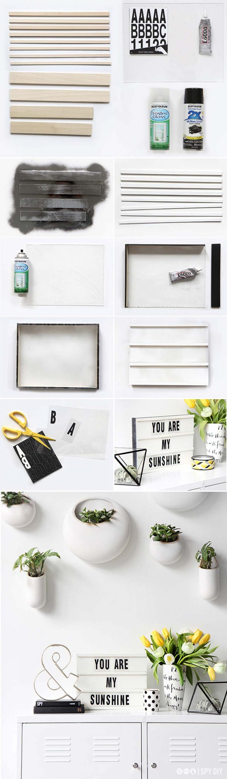 DIY lightbox maken