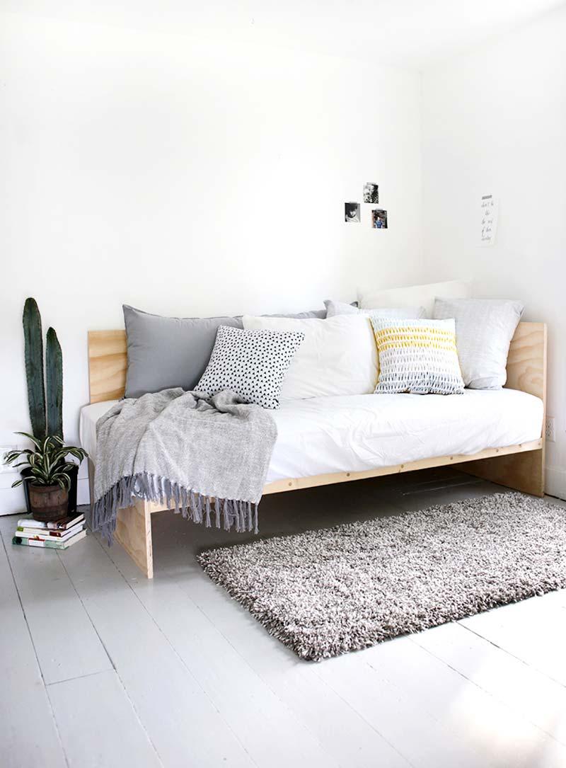 DIY underlayment daybed