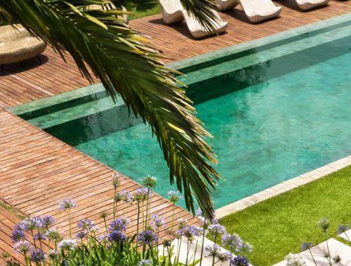 Droomtuin met zwembad