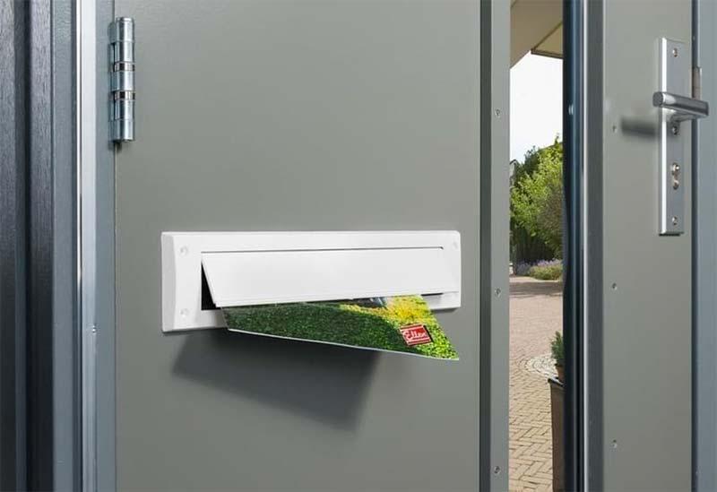 duurzaam wonen brievenbus tocht