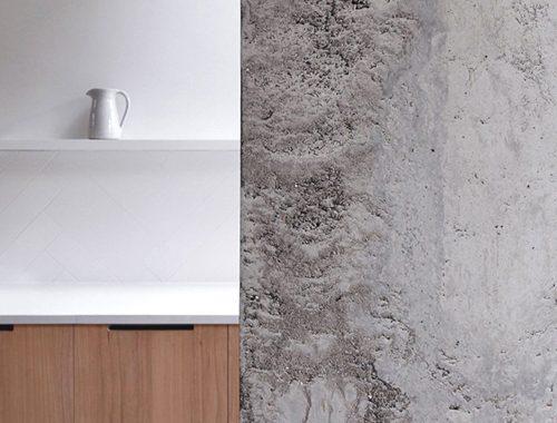 Een hele minimalistische keuken