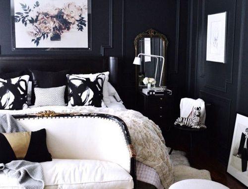 Een klassiek moderne slaapkamer