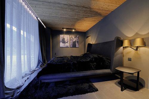 Elegante slaapkamer van Chalet Canelle