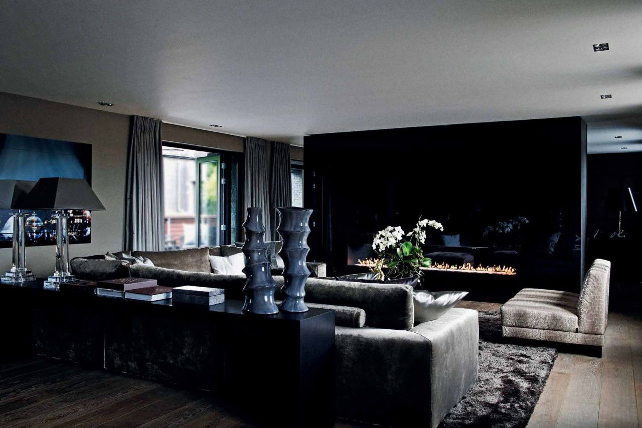 eric kuster penthouse appartement rotterdam woonkamer