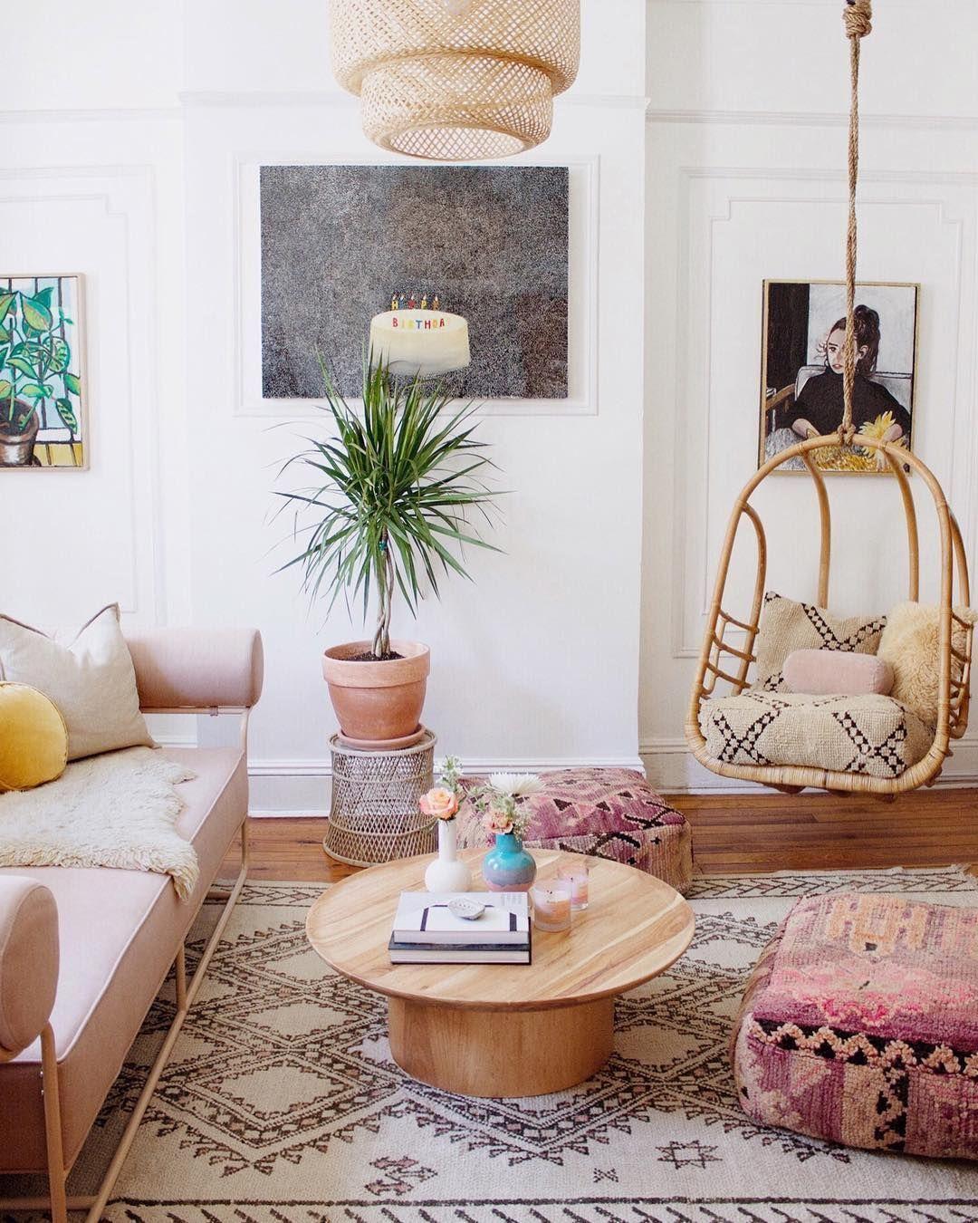 extra zitplek woonkamer hangstoel