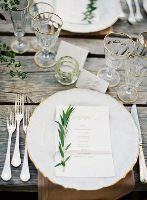 Feestelijke tafels op z'n Scandinavisch
