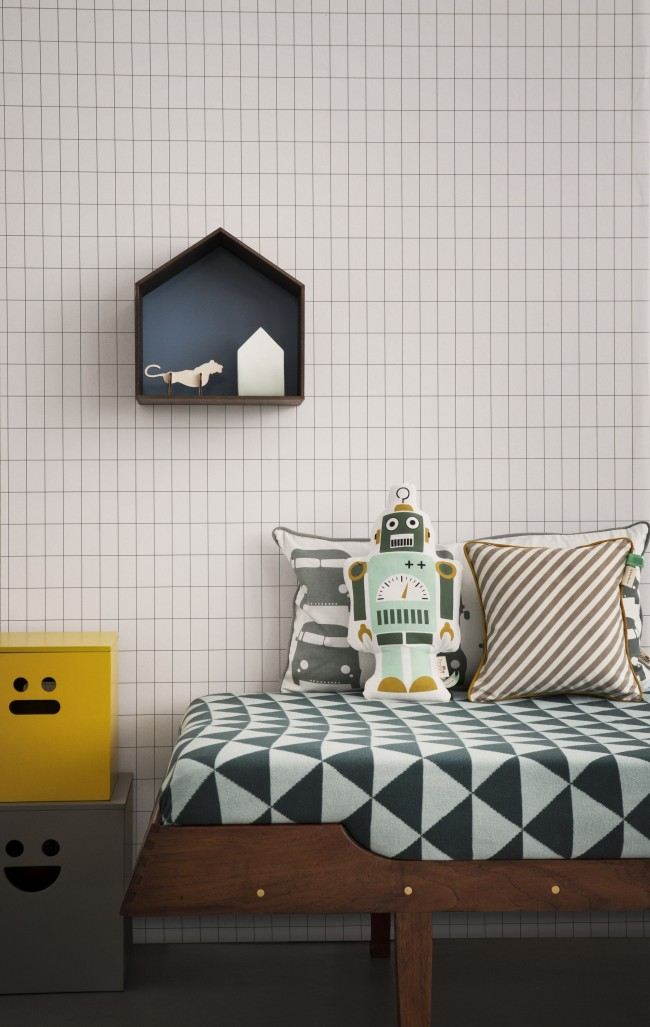 Ferm Living Grid behang