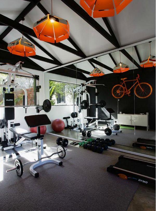 Fitnessruimte in huis