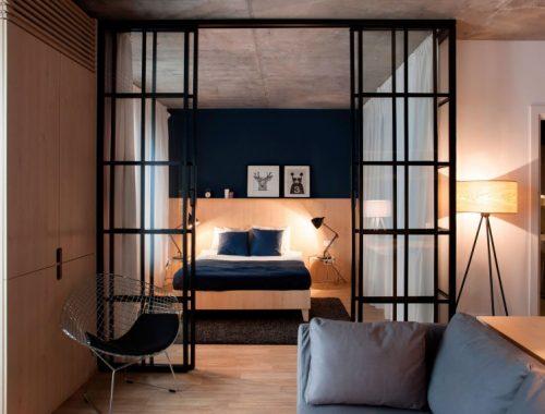 Flexibele slaapkamer met open karakter