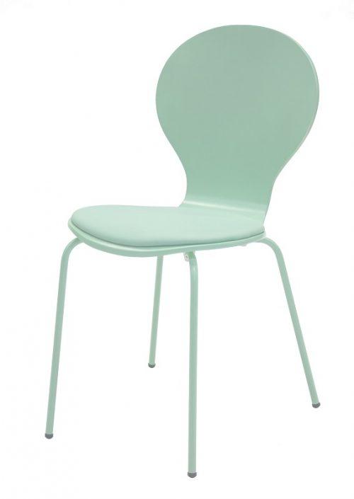 flower-stoel-pastel-groen