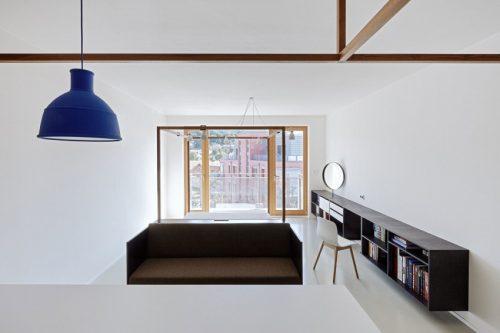 Gastappartement met strak en modern interieur