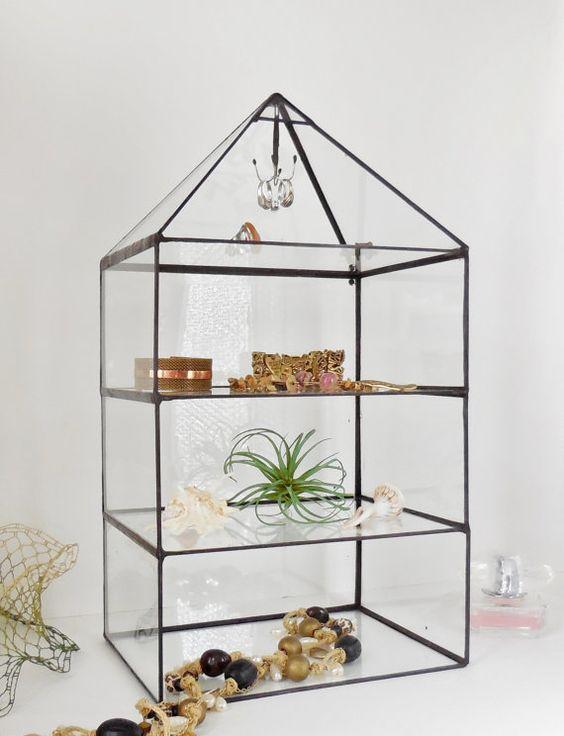 Glazen display