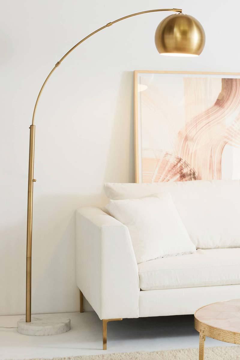 gouden booglamp