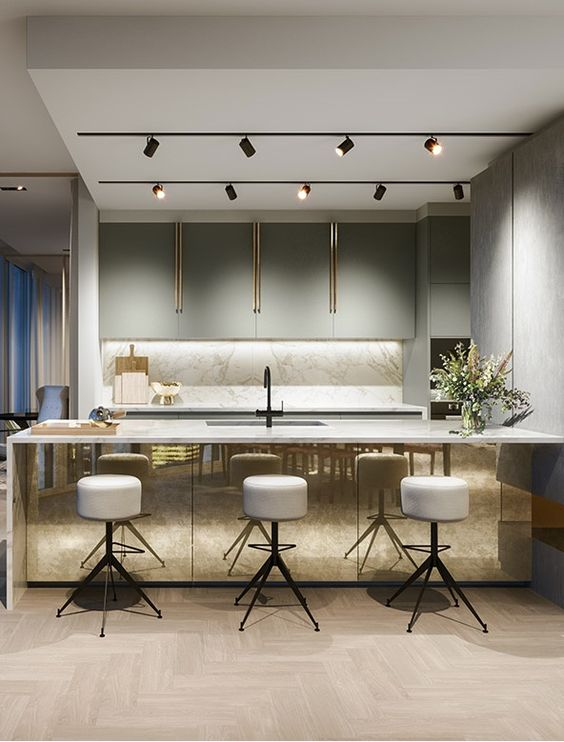 Gouden keuken