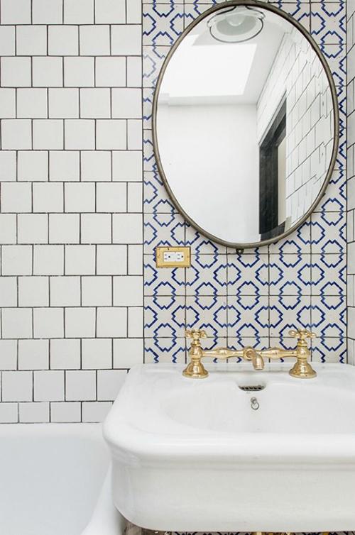 Extreem Gouden kraan in de badkamer | Huis-inrichten.com DP25