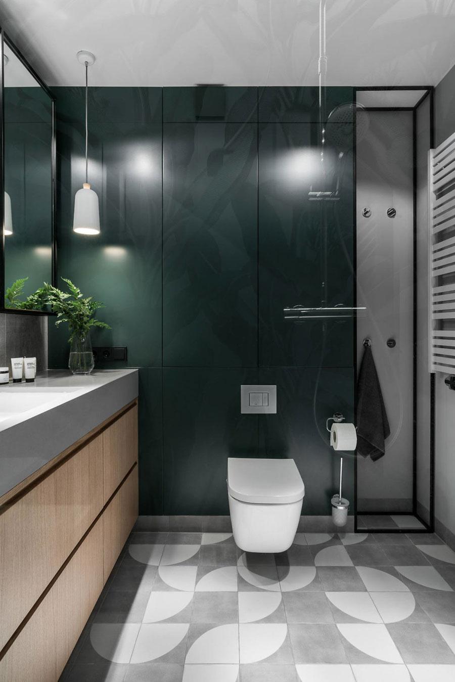 grijs groen combineren badkamer