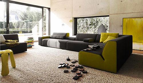 Groen kleurinspiratie woonkamer