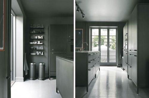 Groot contrast in familiehuis uit Kopenhagen