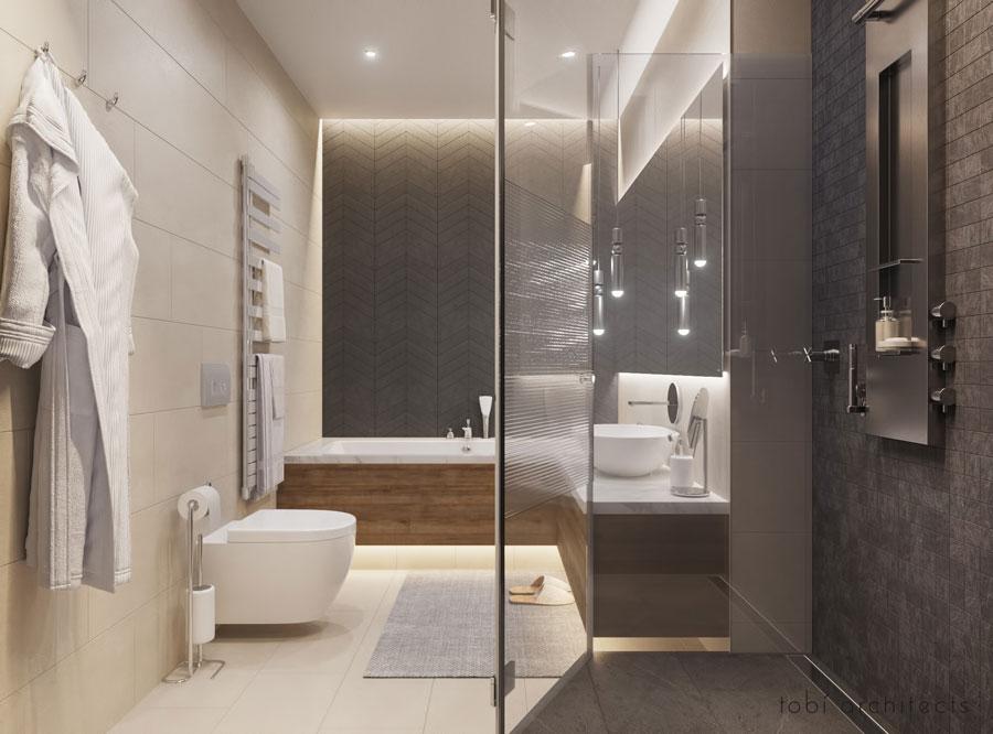 grote badkamers voorbeelden luxe