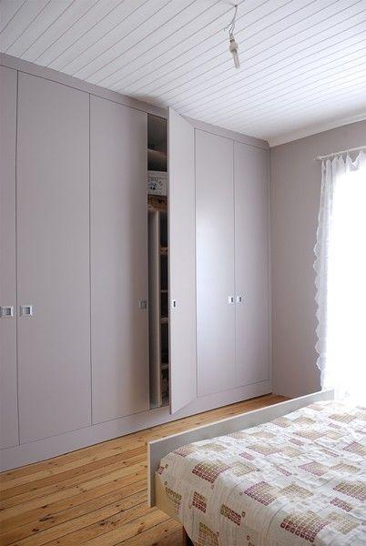 grote brede kledingkast slaapkamer