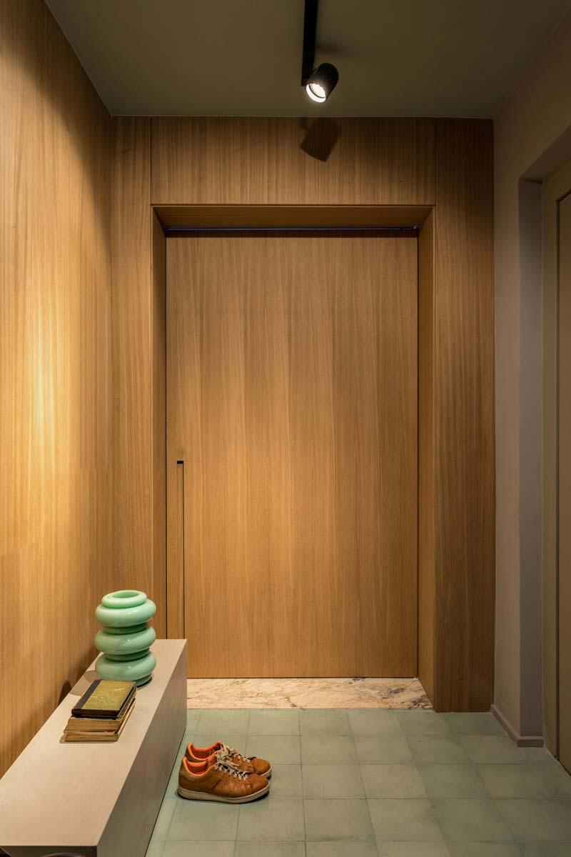 hal houten voordeur