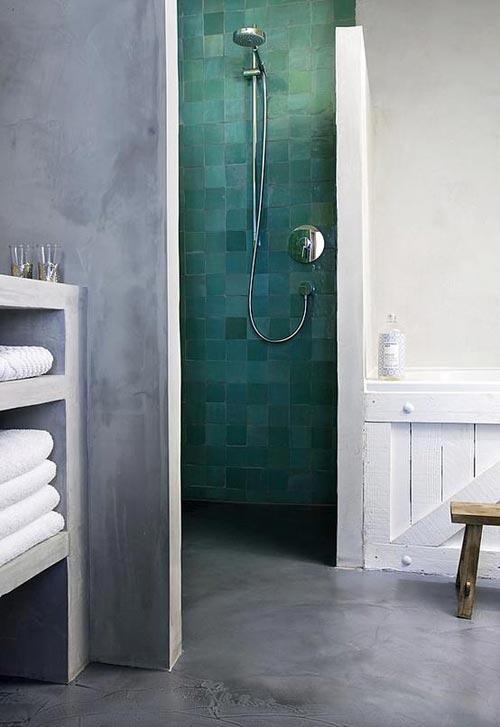 Hammam badkamer beton cire