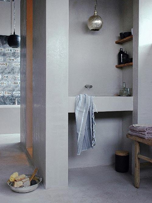 Hammam badkamer stijl