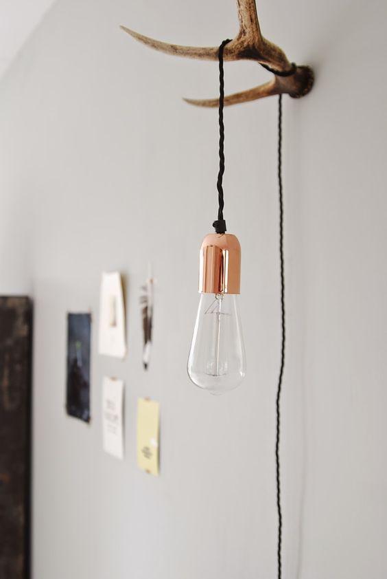hanglamp-aan-gewei