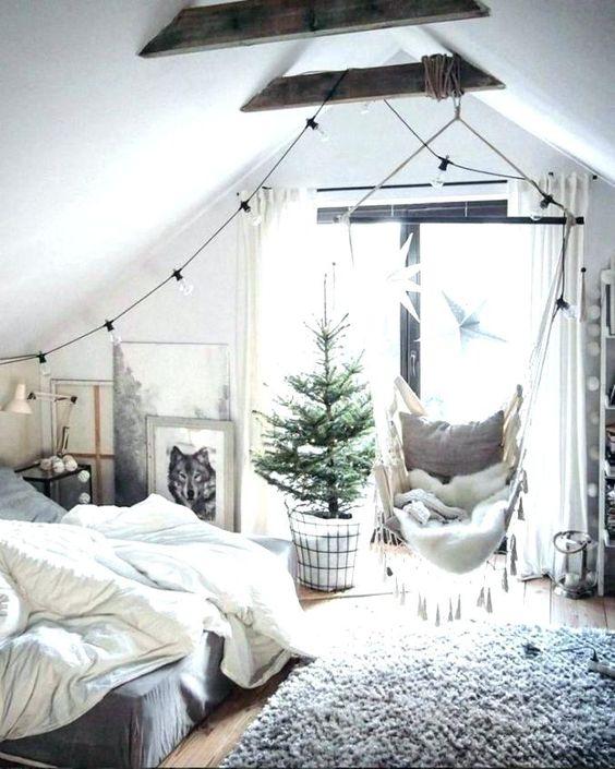 hangstoel in slaapkamer