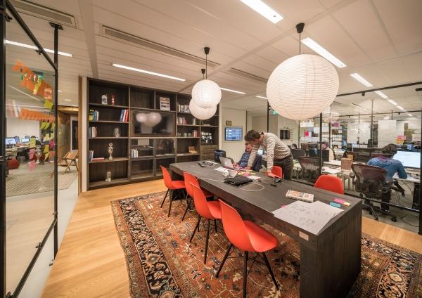 Het kantoor van Funda!