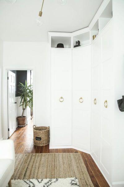 hoek kledingkast slaapkamer