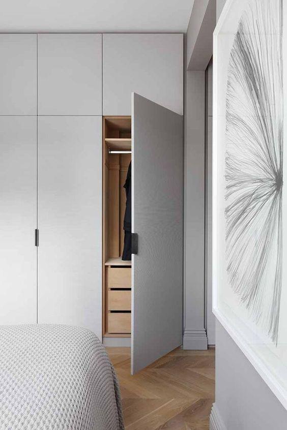 hoge kledingkast slaapkamer maken