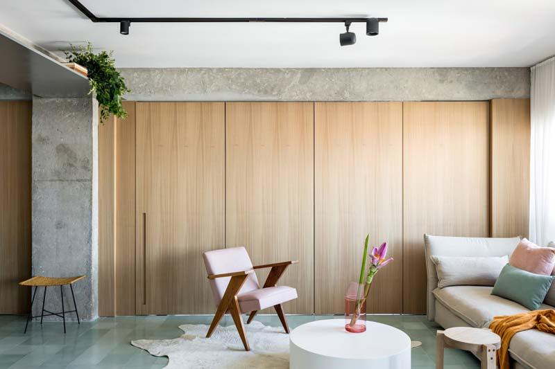 houten deuren woonkamer