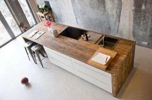 Houten keukenframe