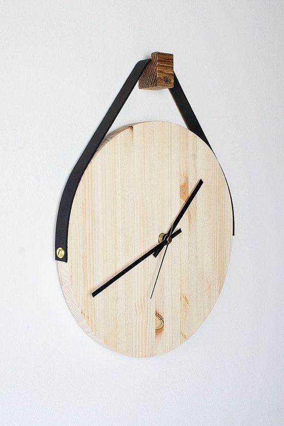 houten-klok